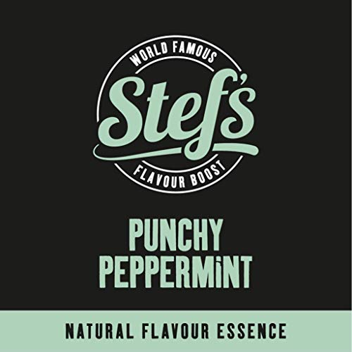 Punchy Peppermint - Natural Peppermint Essence 2.5L von Stef Chef