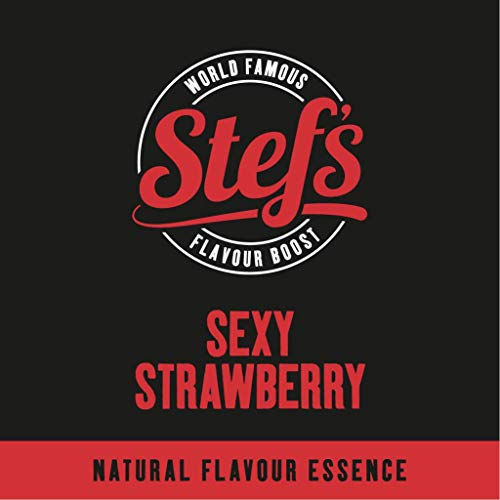 Sexy Strawberry - Natural Strawberry Essence 5L von Stef Chef