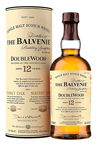 The Balvenie Doublewood Single Malt Scotch Whisky 12 Jahre (1 x 0.7 l) von Balvenie