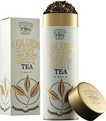 TWG Singapore - The Finest Teas of the World - GOLDEN EARL GREY- 100gr Dose von TWG