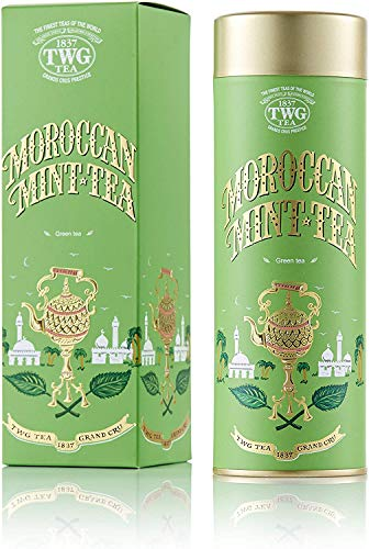 TWG Singapore - The Finest Teas of the World - Moroccan Mint Tee - 100gr Dose von TWG