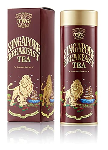 TWG Singapore - The Finest Teas of the World - SINGAPORE BREAKFAST Tee - 100gr Dose von TWG