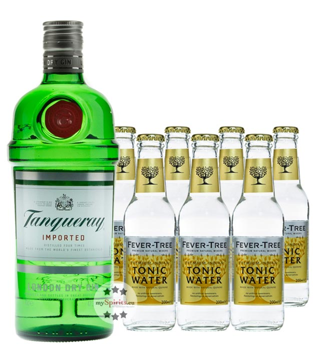 Tanqueray London Dry Gin & Thomas Henry Tonic Set (47,3 % vol., 1,7 Liter) von Tanqueray