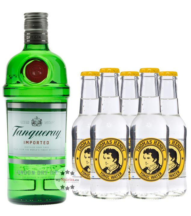 Tanqueray London Dry Gin & Thomas Henry Tonic Set (47,3 % vol., 1,9 Liter) von Tanqueray