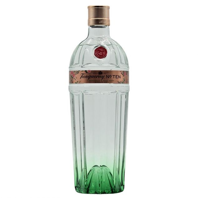 Tanqueray No. Ten Gin Citrus Heart Edition Grapefruit & Rosemary 1 L 45,3%vol. von Tanqueray