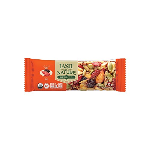 Taste of Nature Müsliriegel Organic Himalayan Goji Summit (1 x 40 g) - Bio von Taste of Nature