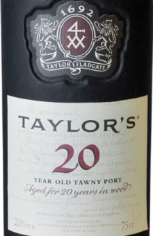 Taylor's Port Tawny 20 years old 20 % - 0.75 Liter von Taylor's Port