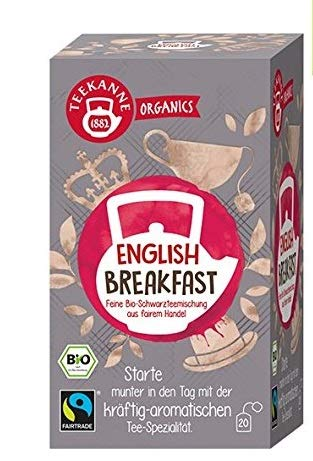 Teekanne Organics English Breakfast, 1er Pack von Teekanne
