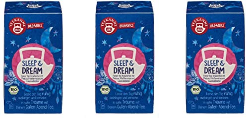Teekanne Organics Sleep & Dream, 3er Pack von Teekanne