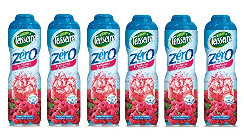 Pack de 6 sirops zéro sucre framboise cranberry Teisseire von Teisseire