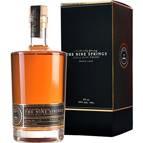 The Nine Springs Triple Cask 3 Jahre Single Malt Whisky 0.5 l von The Nine Springs Triple
