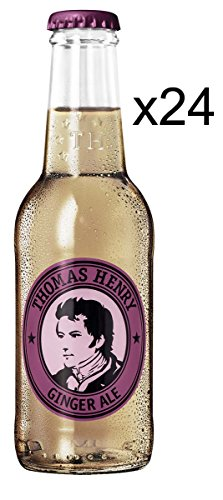 Thomas Henry Ginger Ale - 24er Set (24 x 0,2l) von Thomas Henry