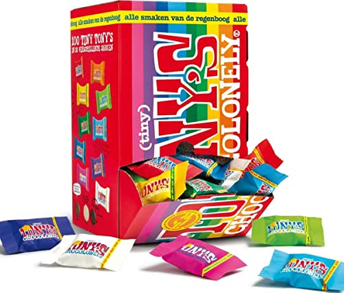100x Tony's Chocolonely Tiny Tony's Mix 10 Sorten 900g von Tony's Chocolonely