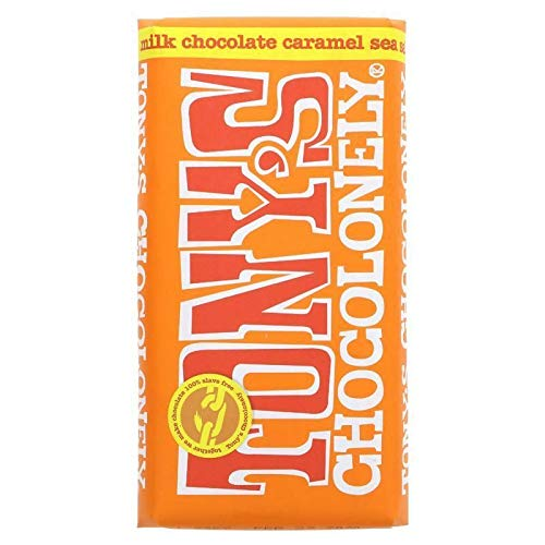 TONY's CHOCOLONELY | Milk Choc Caramel/Sea Salt | 4 x 180g (DE) von Tony's Chocolonely