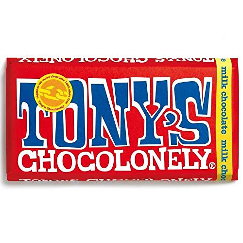 TONY's CHOCOLONELY | Milk Chocolate 32% Nougat | 1 x 180g (DE) von Tony's Chocolonely
