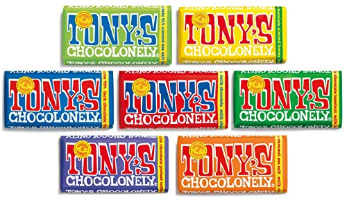 Tony's Chocolonely Chocolate 7 x 180g Bars Mixed Case von Tony's Chocolonely