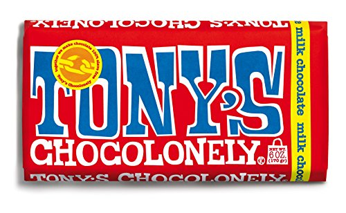 Tony's Chocolonely - Milk Chocolate Bar Original - 6 oz. von Tony's Chocolonely