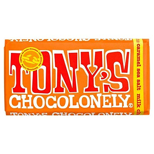 Tony's Chocolonely Milk Chocolate Caramel Sea Salt 180g von Tony's Chocolonely