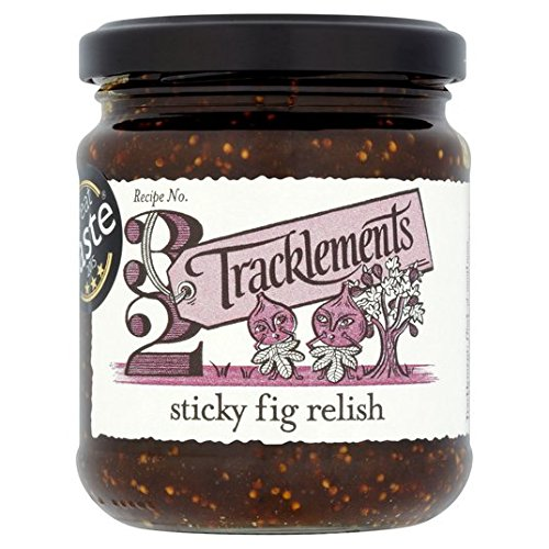 Tracklements Feige Relish 250 g von Tracklements