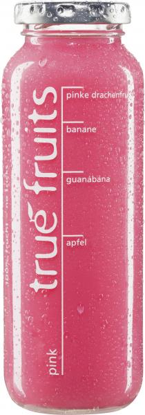 True fruits Smoothie pink von True fruits