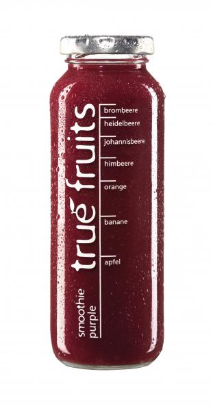 True fruits Smoothie purple von True fruits