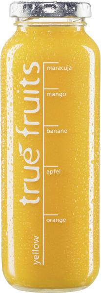 True fruits Smoothie yellow von True fruits