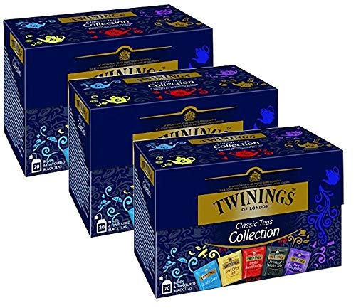 Twinings Classic Schwarztee Collection 3 x 20 Teebeutel von Twinings of London