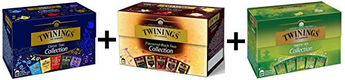 Twinings Collection Classic + Black + Green Teas von Twinings of London