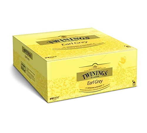 Twinings Earl Grey 200g, 100 Beutel, 1er Pack (1 x 200 g) von Twinings of London
