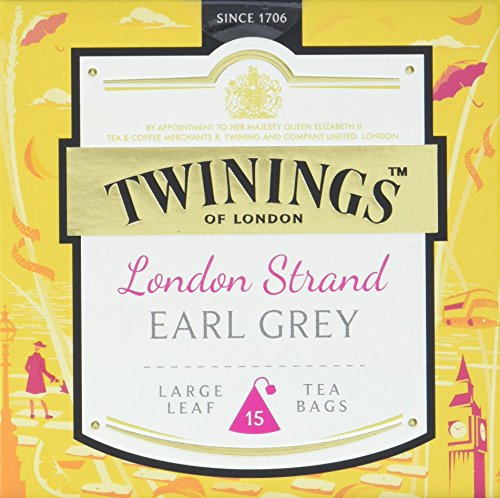 Twinings London Strand Earl Grey, 2er Pack (2 x 37,5 g) von Twinings of London