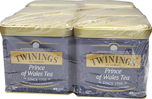 Twinings of London Prince of Wales 6 x 100 g loser Tee von Twinings