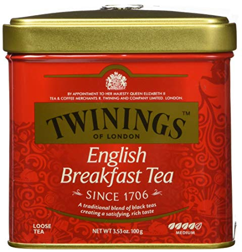 Twinings English Breakfast Tea, Loose Tea, 3.53 Ounce Tin von Twinings