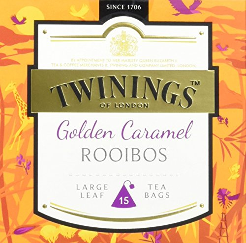 Twinings Golden Caramel Rooibos, 2er Pack (2 x 37,5 g) von Twinings