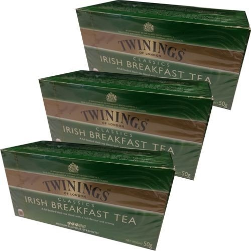 Twinings Teebeutel Irish Breakfast Tea 3 x 25 Btl. von Twinings