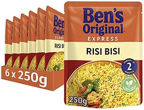 Uncle Ben's Express-Reis Risi Bisi, 6 Packungen, (6 x 250g) von UNCLE BEN'S