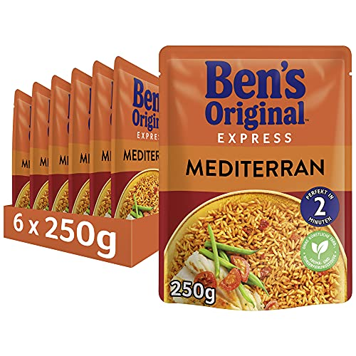 Uncle Ben's® Express-Reis Mediterran (6x250g) von Uncle Ben's