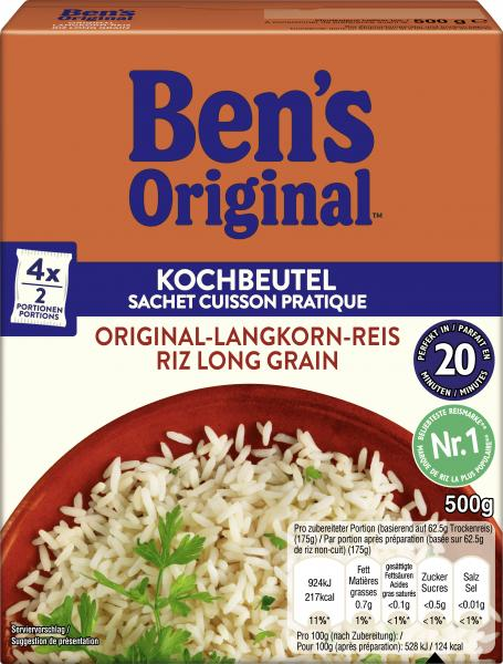 Uncle Ben's Original-Langkorn-Reis von Uncle Ben's