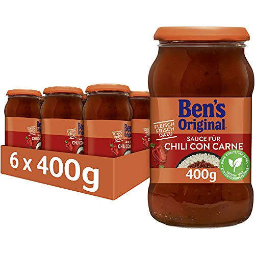 Uncle Ben's Sauce Chili con Carne, 6 Gläser (6 x 400g) von Uncle Ben's