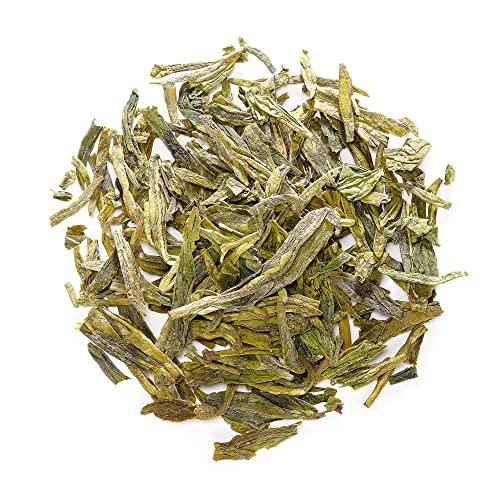 Long Jing Gruner Tee China - Xihu Lung Ching Chinese Tea - Drachenbrunnen Tee Vom Westsee - Dragon Well Von Hangzhou - Longjing - Lungching 100g von Valley of Tea