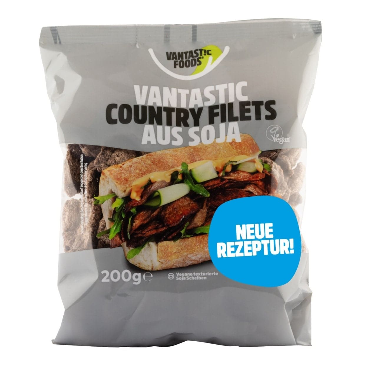 Vantastic foods VANTASTIC COUNTRY FILETS aus Soja, 200g von Vantastic foods