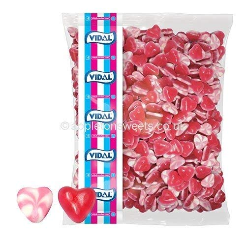 VIDAL RED AND WHITE HEARTS - 3KG von Vidal