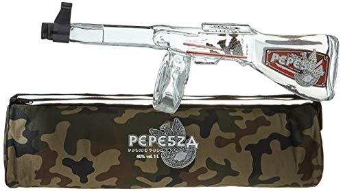 Bartex Pepesza Vodka - Tommy Gun In Luxury Bag + GB Wodka (1 x 1000 ml) von BARTEX