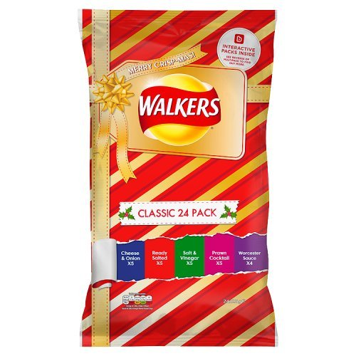 Walkers Chips Paket Classic Variety 24 x 25 g von Walkers
