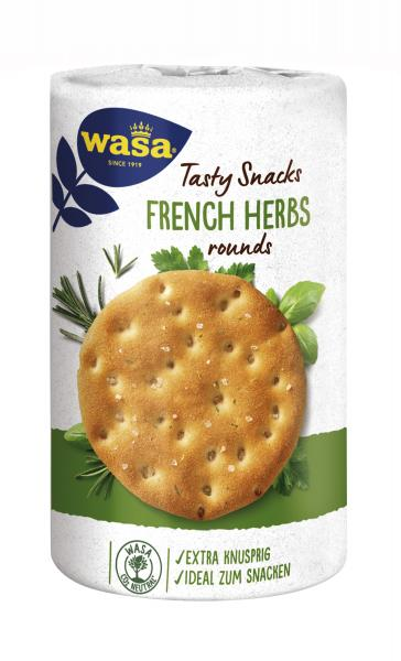 Wasa Knäckebrot Delicate Rounds French Herbs von Wasa