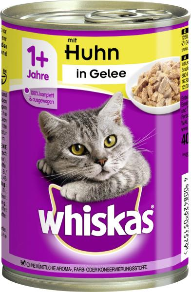 Whiskas Adult in Gelee mit Huhn von Whiskas