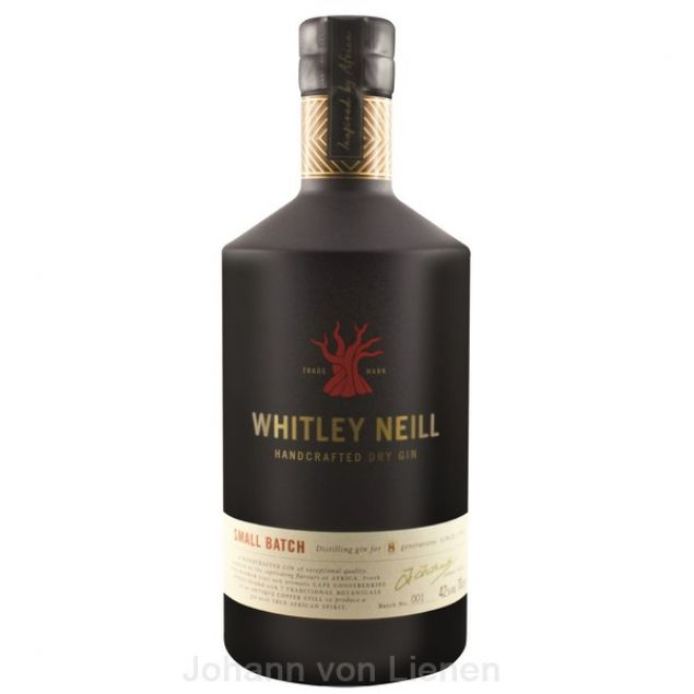 Whitley Neill London Dry Gin 0,7 Ltr. 42%vol von Whitley Neill