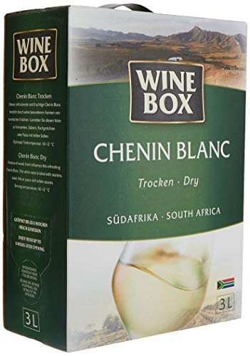 Wine Box Chenin Blanc Südafrika trocken Bag-in-Box (1 x 3 l) von WineBox