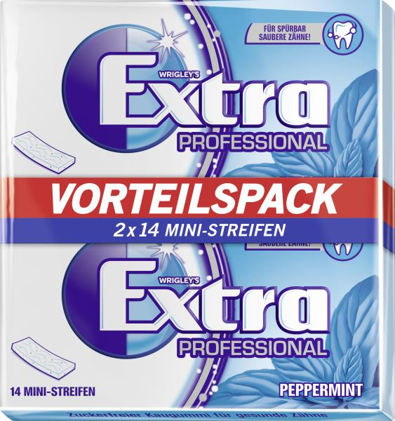 Wrigley's Extra Professional Peppermint von Wrigley's Extra Professional