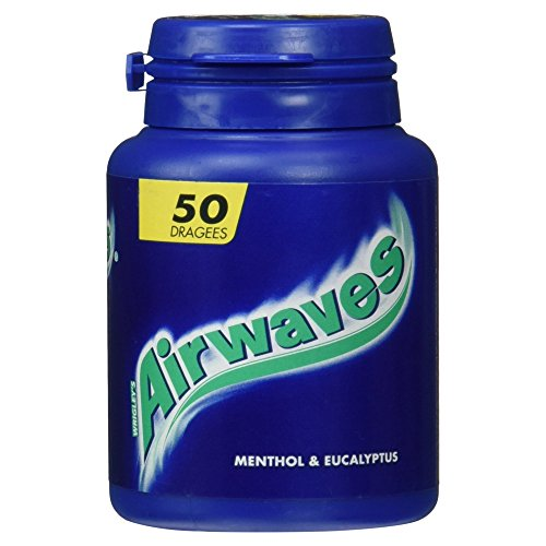 Wrigley's Airwaves Menthol and Eucalyptus Dose, 50 Dragees, 1er Pack von Wrigley
