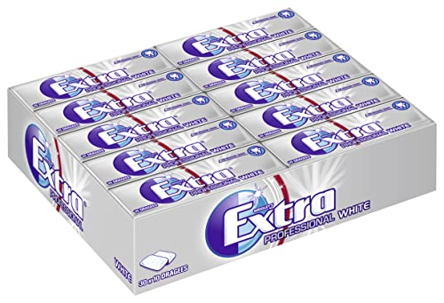 Wrigley's Extra Professional White, 30er Pack (30 x 10 Dragees) von Wrigley's